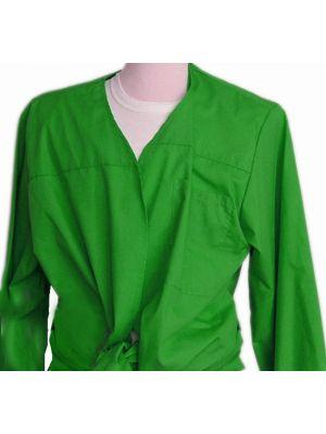 Blusones peñas cuello abierto 1 color de algodon con logo vista 1