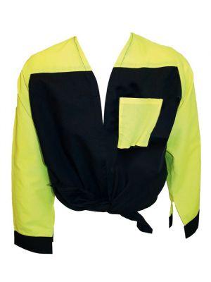 Blusones peñas cuello abierto 2 colores de algodon con publicidad vista 1