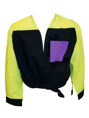 Blusones peñas cuello abierto 3 colores niño de algodon con impresión vista 1