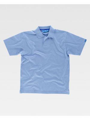 Polos para trabajar workteam mc algodon pique tratamiento antibacteriano de 100% algodón imagen 1