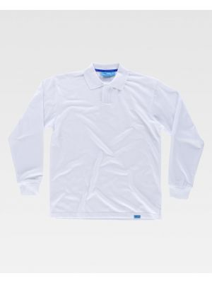 Polos de trabajo workteam ml pique algodon tratamiento antibacteriano de 100% algodón para personalizar vista 1