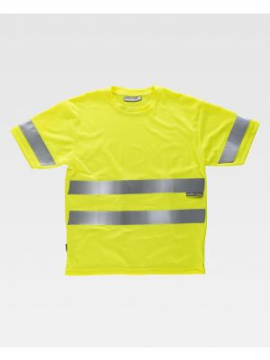 Camisetas reflectantes workteam alta visbilidad mc vista 1