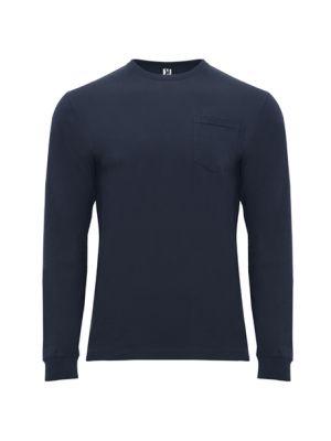 Camisetas manga larga roly shiba de 100% algodón con logo imagen 1