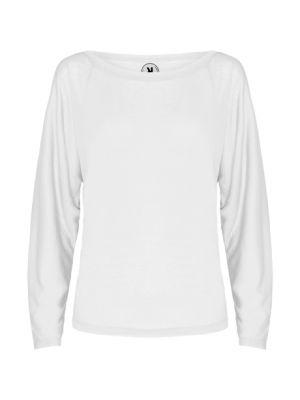 Camisetas manga larga roly dafne mujer de poliéster con publicidad vista 1