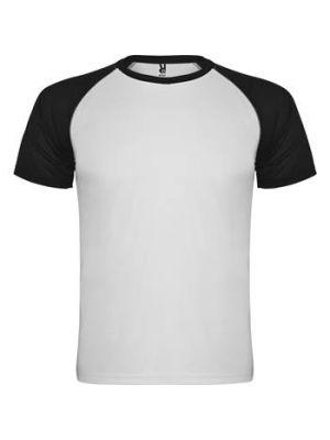 Camisetas técnicas roly indianapolis niño de poliéster con logo imagen 1