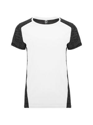 Camisetas técnicas roly zolder mujer de poliéster con logo vista 1