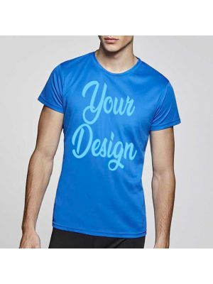 Camisetas técnicas roly camimera de poliéster vista 1