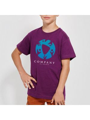 Camisetas manga corta roly dogo premium niño de 100% algodón con impresión vista 1
