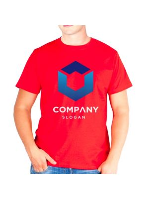 Camisetas manga corta keya mc130 de 100% algodón para personalizar vista 1