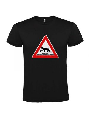 Camisetas despedida hombre de despedida 100% algodón con impresión vista 1