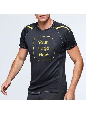 Camisetas técnicas roly sepang de poliéster con logo vista 2