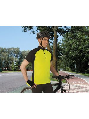 Equipaciones deportivas valento ropa técnica maillot ciclismo adulto giro vista 1