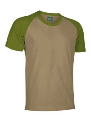 Camisetas manga corta valento caiman de algodon con logo vista 1