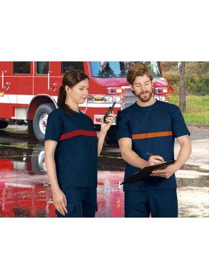 Camisetas de trabajo valento server con impresión imagen 1