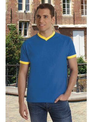 Camisetas manga corta valento premium twin de algodon imagen 1