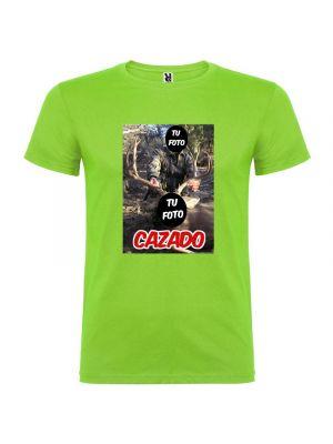 Camisetas despedida hombre para novios con diseño de cazador 100% algodón para personalizar imagen 1