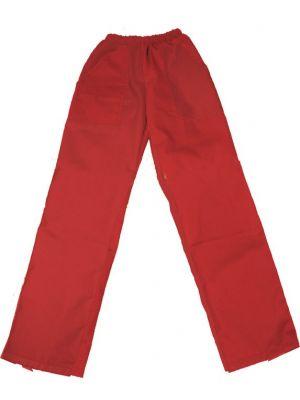 Pantalones peñas peñas 1 color confección de algodon con logo vista 1