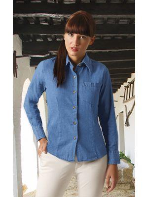 Camisas manga larga valento panter con impresión vista 1