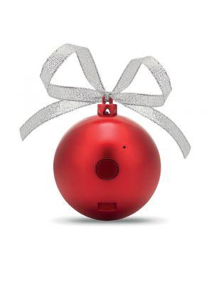 Navidad jingle ball altavoz bola de navidad de plástico vista 1