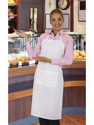 Delantales de hostelería valento dpe de poliéster con logo imagen 1