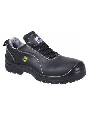 Calzado seguridad zapato portwest compositelite esd leather safety s1 para personalizar vista 1