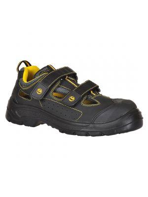 Calzado seguridad sandalia portwest compositelite esd tagus s1p con impresión vista 1