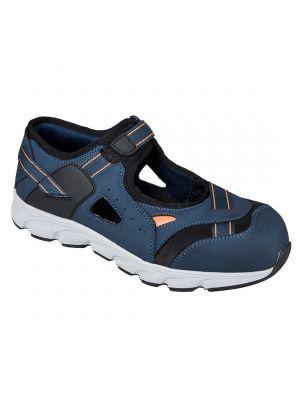 Calzado seguridad sandalia de seguridad portwest compositelite tay s1p con logo vista 1