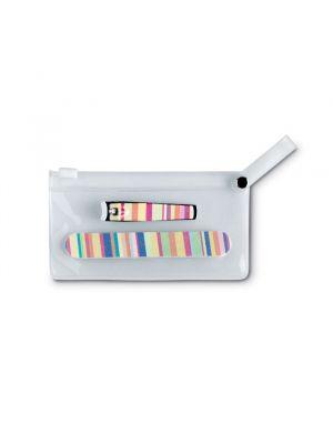 Manicura arme set de manicura en bolsa de pvc para personalizar imagen 2