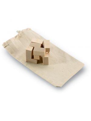 Juguetes y puzzles trikesnats puzzle de madera en bolsa de madera con impresión vista 1