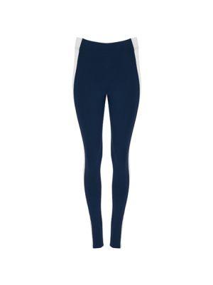 Pantalones técnicos roly agia de algodon con publicidad imagen 1