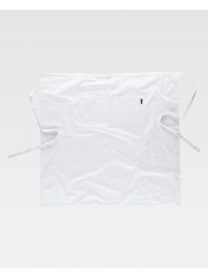Delantales de hostelería workteam m205 de 100% algodón imagen 2