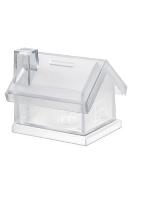 Decoración mybank casa hucha de plástico de plástico para personalizar imagen 2