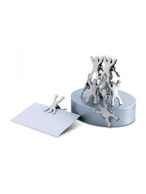 Material oficina castillo base magnética con clips de metal para personalizar imagen 2