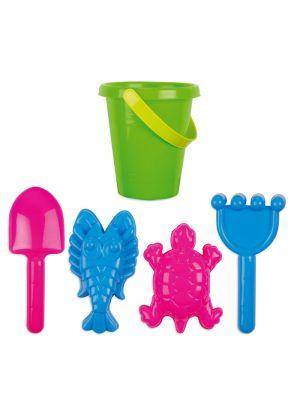 Playa sandy juego de playa niños de plástico vista 1