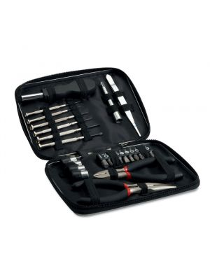 Kit herramientas paul tool set in aluminium case de metal para personalizar imagen 1