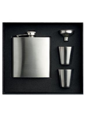 Cocktail slimmy flask set petaca de metal imagen 2