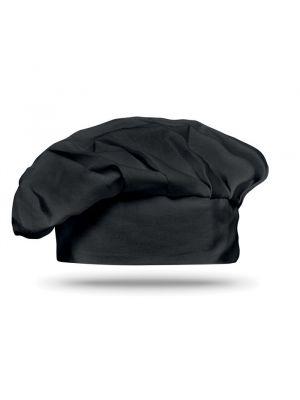 Cocina y menaje chef gorro de chef (130grm2) de 100% algodón con publicidad vista 1
