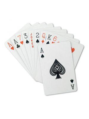 Barajas y juegos de mesa aruba juego de cartas en caja de plástico con publicidad vista 1