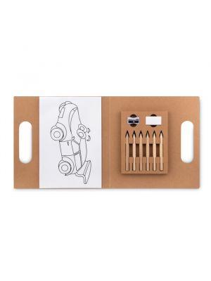 Pinturas colorear folder2 de varios materiales para personalizar vista 1