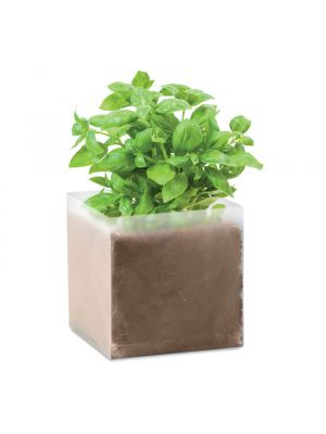 Jardinería basil bolsa de semillas de albahaca de varios materiales para personalizar imagen 2