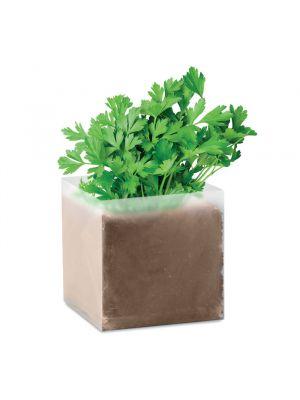 Jardinería parsely bolsa con semillas de perejil de varios materiales con impresión imagen 2