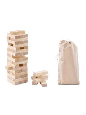 Barajas y juegos de mesa pisa juego torre de madera de varios materiales imagen 2