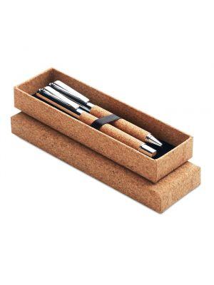 Bolígrafos roller quercus de varios materiales vista 1