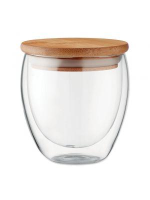 Vasos para llevar tirana 250 ml de varios materiales ecológico con publicidad vista 1