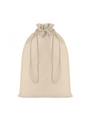 Bolsas personalizadas taske large de 100% algodón con publicidad vista 1
