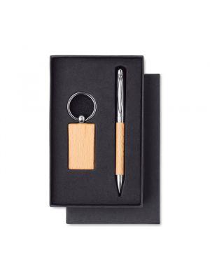 Bolígrafos personalizados pen de varios materiales con publicidad vista 1