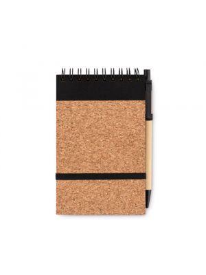 Bolígrafos personalizados sonoracork de papel ecológico con impresión vista 1