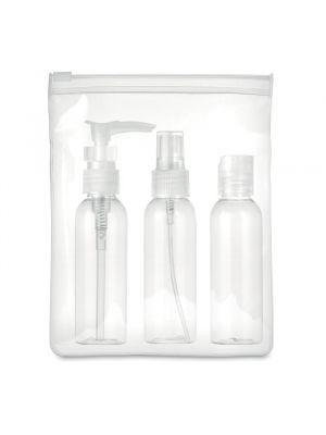Neceseres travel de plástico para personalizar vista 1