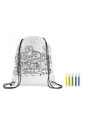 Mochilas infantiles carrydraw no tejido para personalizar imagen 1
