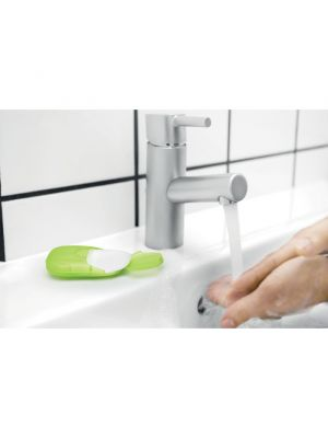 Seguridad covid soap to go hojas de jabón en estuche pp de polypropylene pp con publicidad vista 3